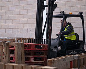 Fork Lift Truck Training in Cheshire